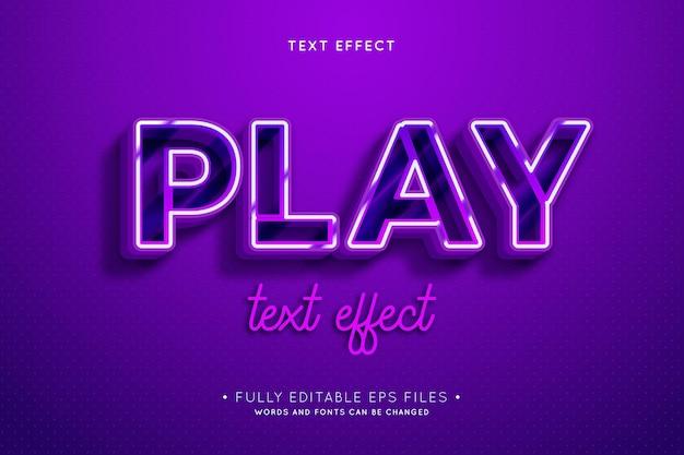 Retro text effect Free Vector