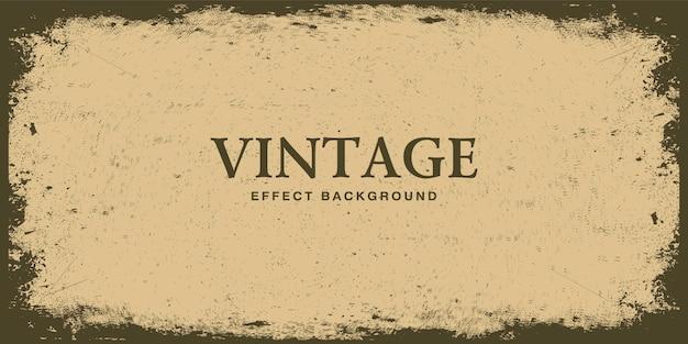 Retro vintage background with grunge texture Premium Vector