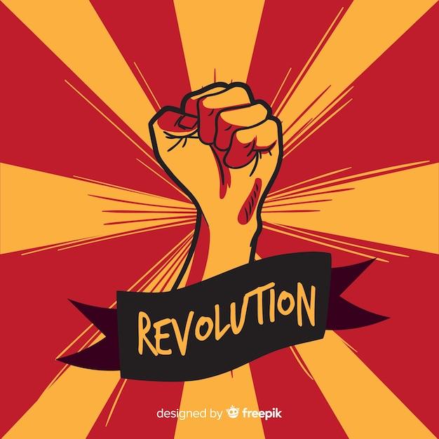 Revolution Free Vector