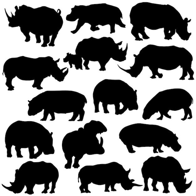 Rhino Animal Clip Art