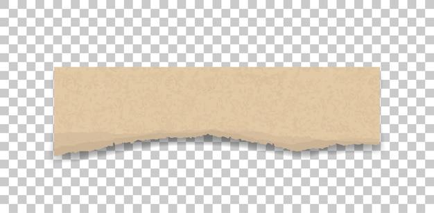 Ripped paper texture. Premium Vector