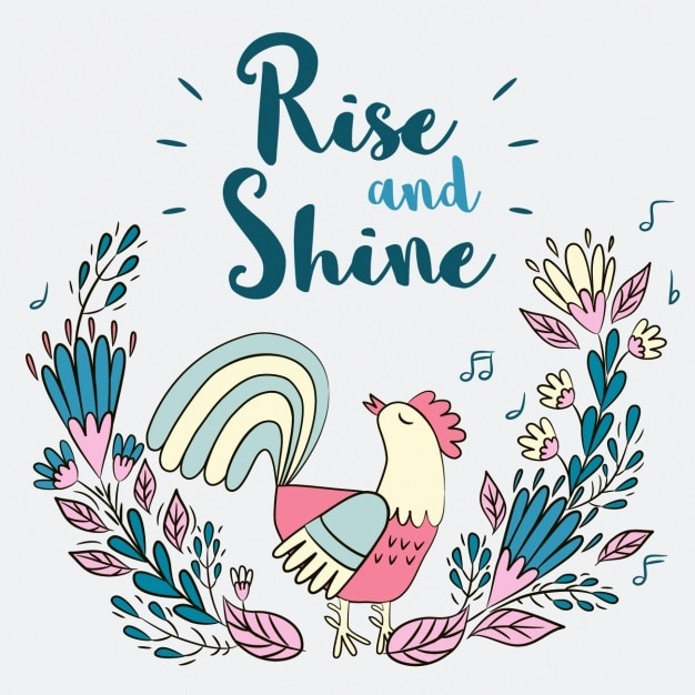 Rise And Shine Vector Free Download