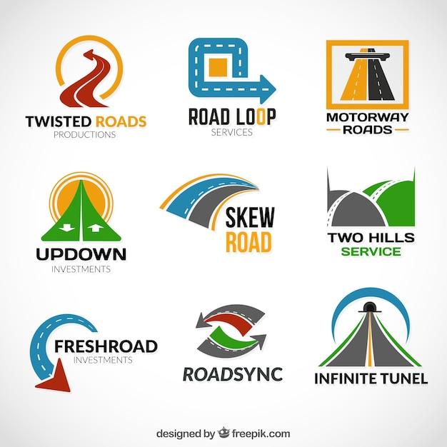 road logos vector free download
