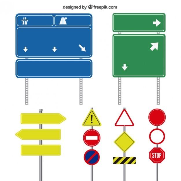 road signs vector free download rh freepik com road sign vector image road sign vector