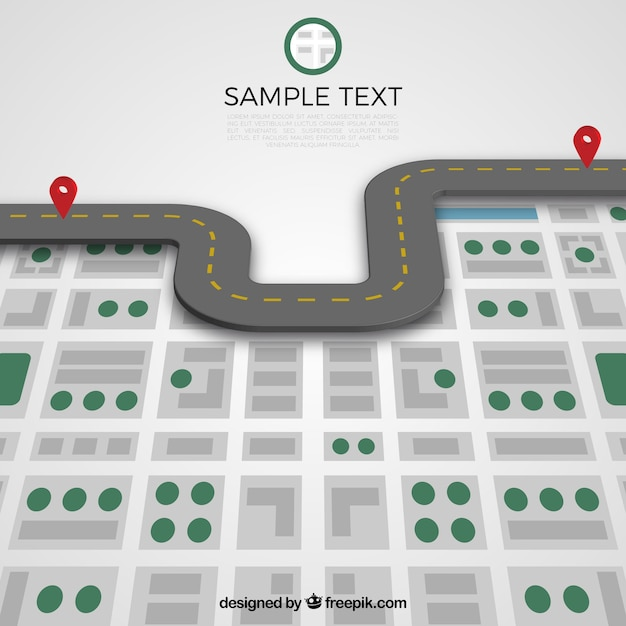 road template vector free download
