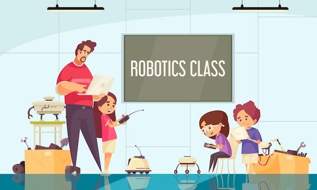 Giao tiếp cũng là một kỹ năng quan trọng trong lập trình robot