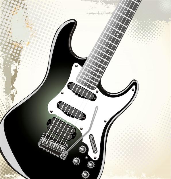 Rock concert background Premium Vector