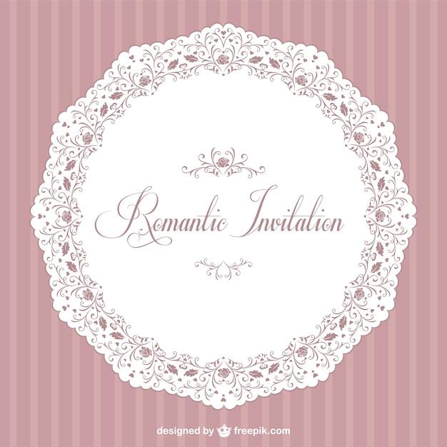 Romantic invitation vector free download romantic invitation free vector stopboris Images