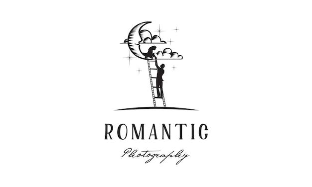 Romeo juliet film / photography Premium Vector