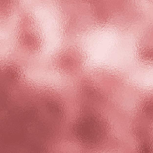 Rose gold metallic texture background Free Vector