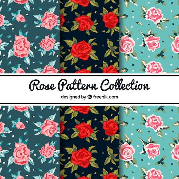Rose pattern collection