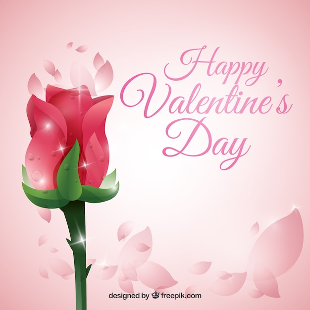 rose valentine day background vector | free download, Ideas