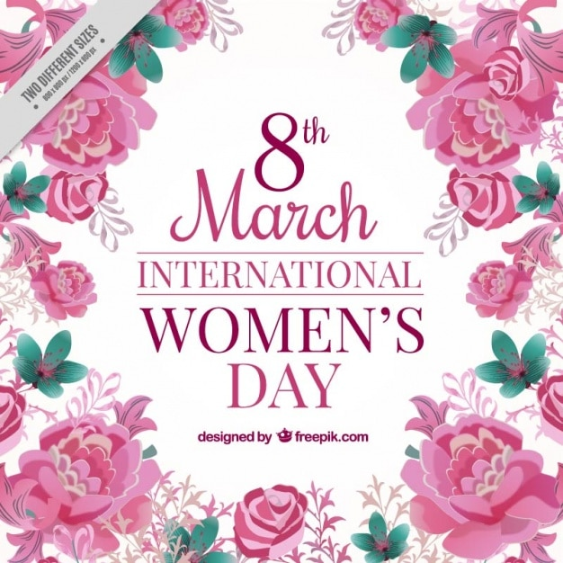 Roses of the international woman\'s day\ background
