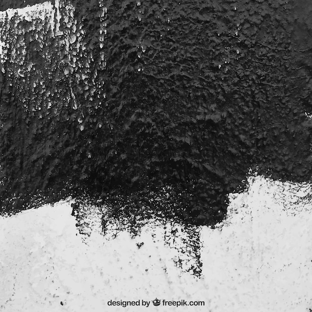 Roughness wall with black paint texture Vector Free Download