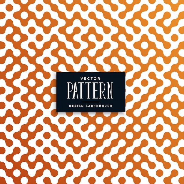 Round shape truchet pattern background Free Vector