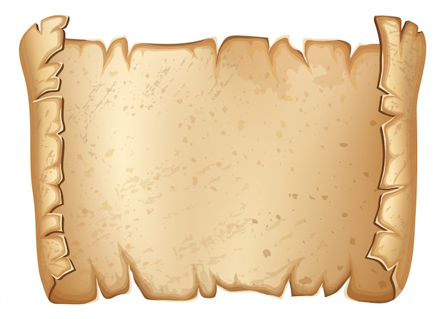 Royal old parchment. Premium Vector