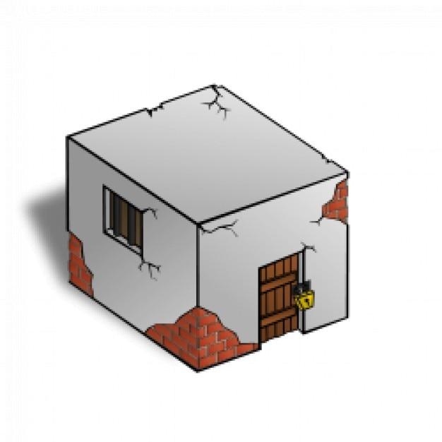 RPG map symbols: Jailhouse Free Vector