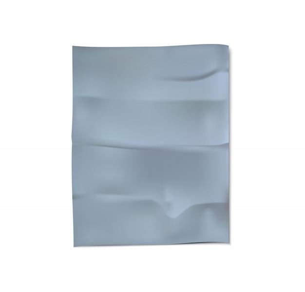 Сrumpled fabric vector Premium Vector