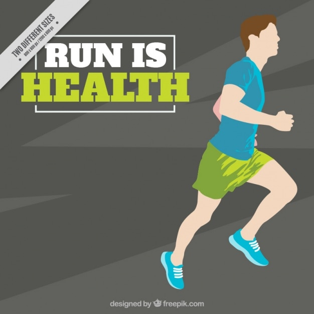 Running is health