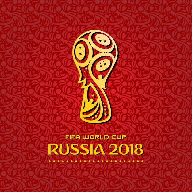World Cup 2018 Background Vector Free