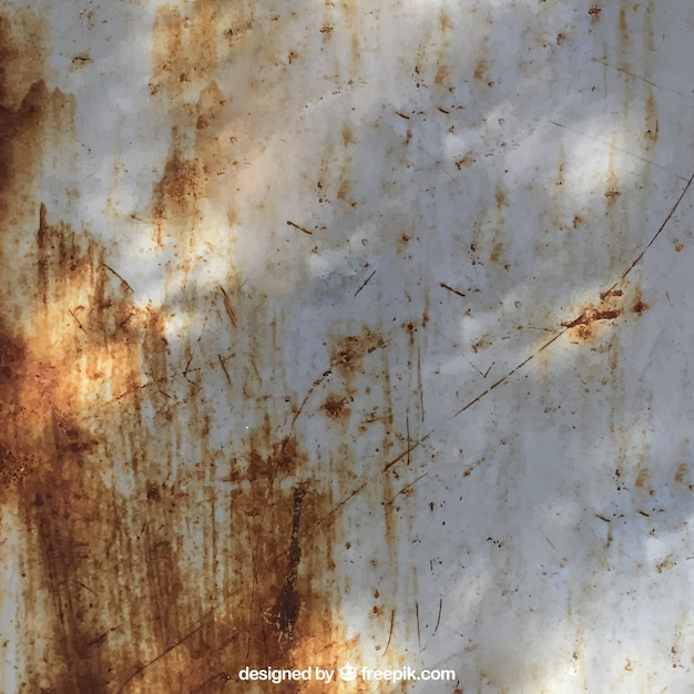 Rusted wall texture Free Vector