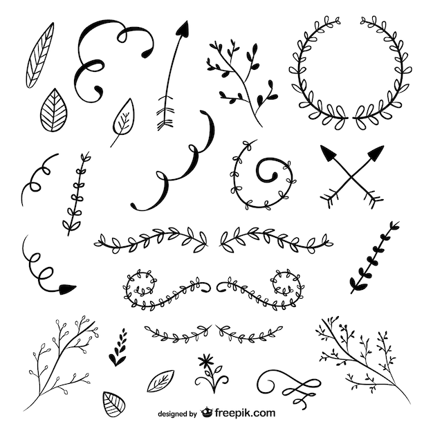 Vector Drawing Lines Download : Rustic vectors photos and psd files free download