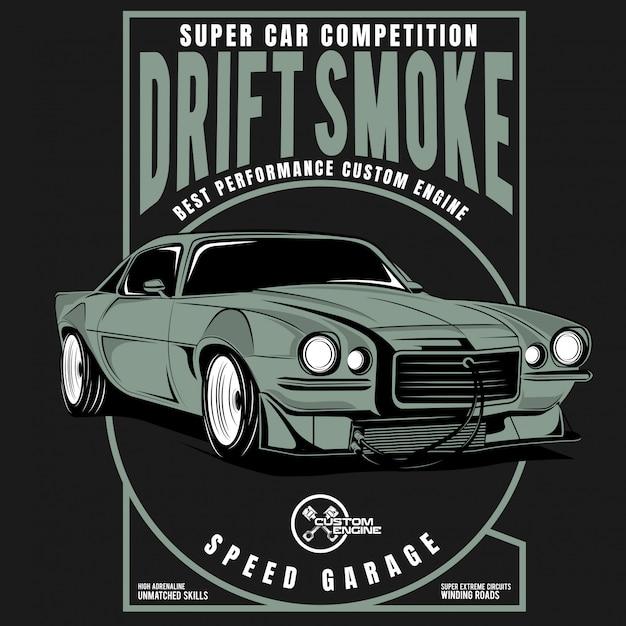 Rusty iron, the super truck, classic truck posters Premium Vector
