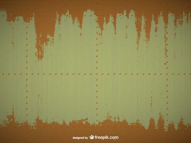 Rusty metal texture Free Vector