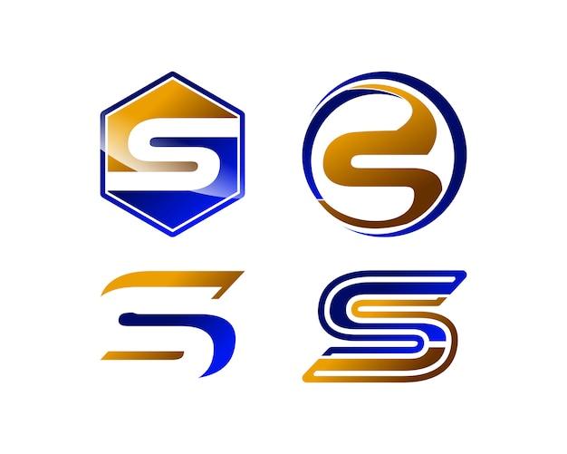 logo lettre s S letter logo template collection Vector | Premium Download logo lettre s