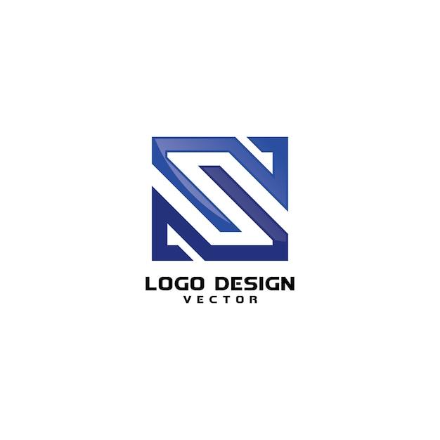 リニアsロゴデザインベクター Premiumベクター