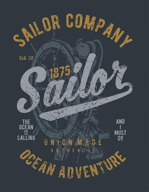 Sailor Premium Vector