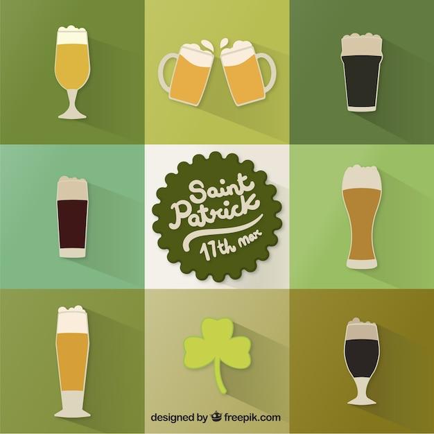 Saint patrick's beers