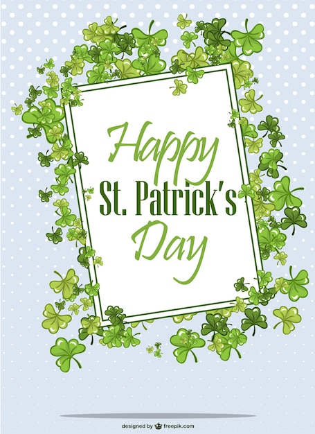 Saint patrick's day vector Free Vector