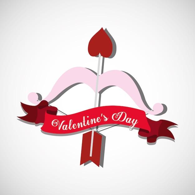 Saint valentines day design Premium Vector