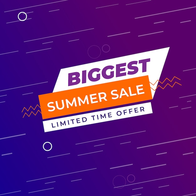 Sale banner background for offers Premium Vector