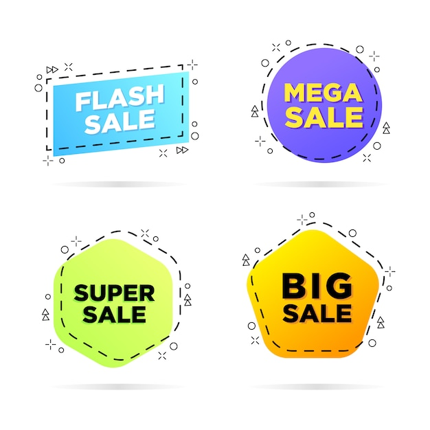 Sale banner design Premium Vector