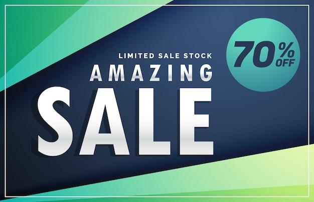 Sale banner discount voucher Free Vector
