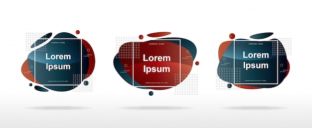 Sale banner layout modern with modern abstract shapes Premium Vector