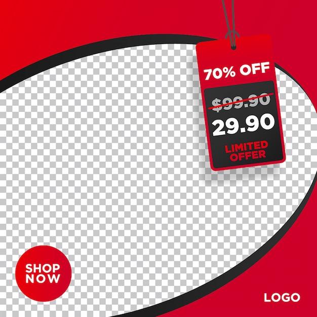 Sale banner web social media Premium Vector