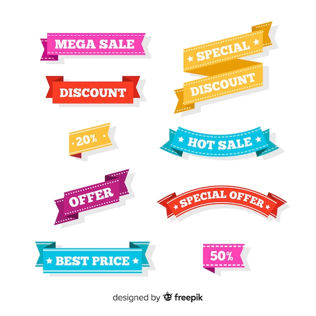 Sale Banners Vector Free Download