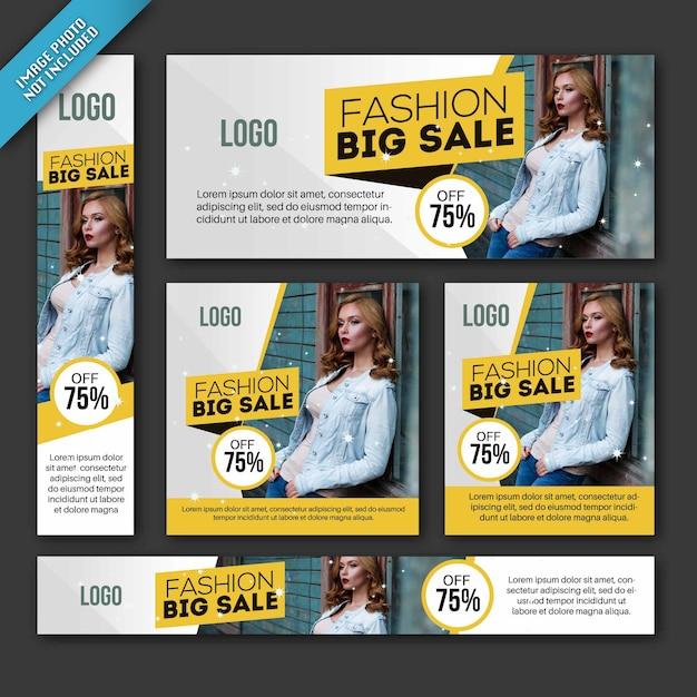 sale brochure templates collection vector premium download