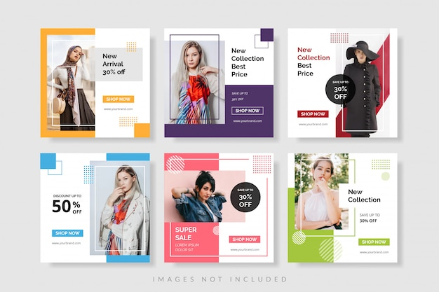 Sale promotion banner template for web and social media post Premium Vector