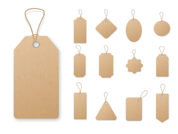 Sale tag and labels Premium Vector
