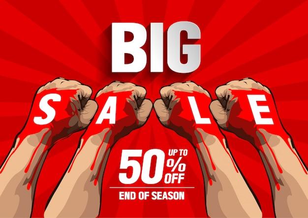 Sale Premium Vector