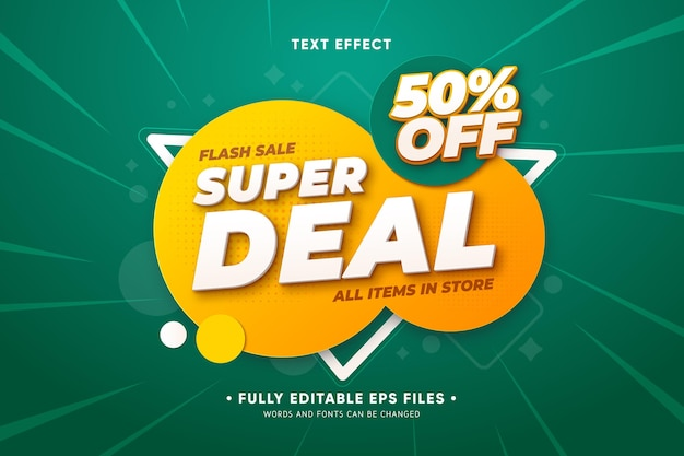 Sales promo with abstract shapes Free Vector