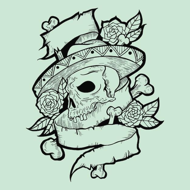 Sample tatto Premium Vector