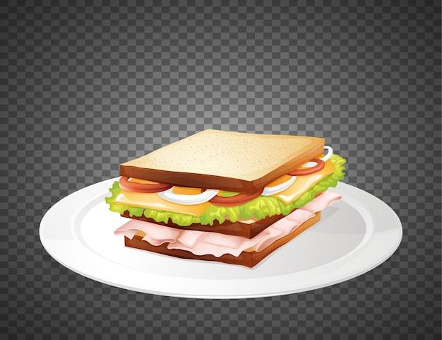 Sandwich Free Vector
