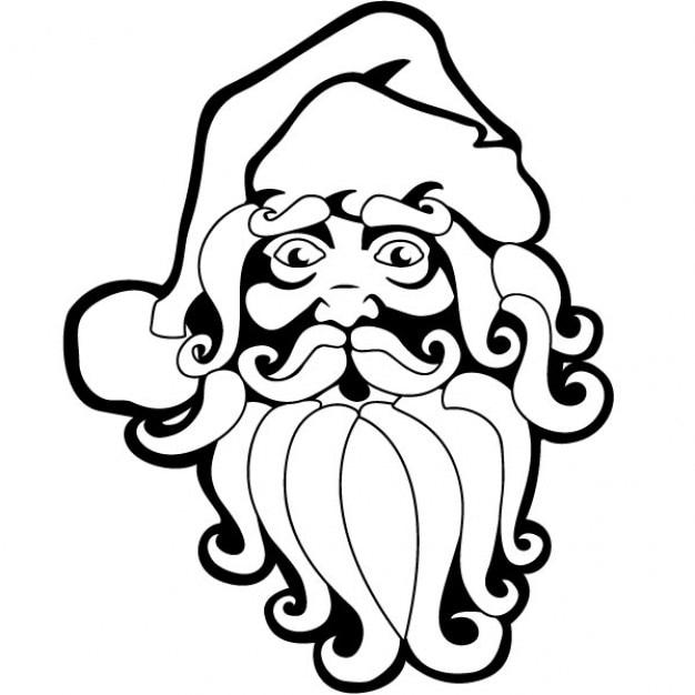 Santa Claus Drawing Christmas Vector Free Vector