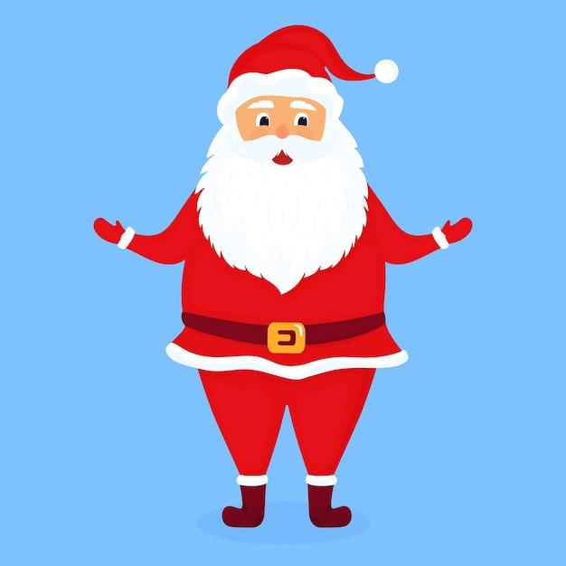 Santa claus illustration Premium Vector