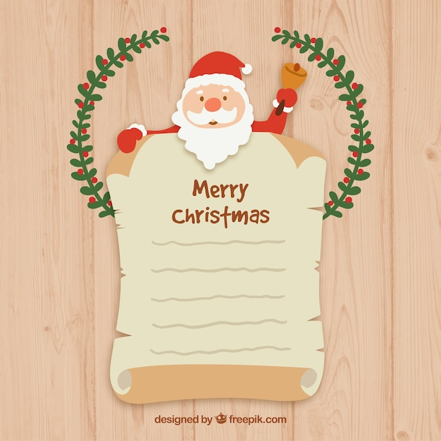 Santa claus letter template vector premium download santa claus letter template premium vector spiritdancerdesigns Choice Image